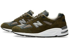 New Balance 990 Age of Exploration M990DSU2 Olive Gray Mens Made in USA Sz 9 D