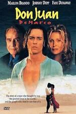 Don Juan DeMarco (DVD, 1998) Marlon Brando, Johnny Depp   ***BRAND NEW***