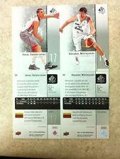 Jonas Valanciunas Donatas Motiejunas Lithuania Rookie Lot 2011-12 Basketball