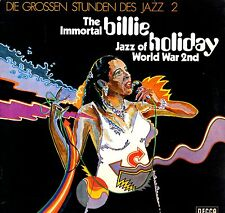 """BILLIE HOLIDAY - The Immortal JAZZ (Vinile e Cover=M) LP 12"""" LAMINATED Import"""