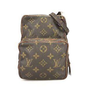 100% Authentic Louis Vuitton Old Amazon Shoulder Bag M45236 Used 1077-5-eb