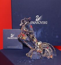 Swarovski Crystal Rooster Collectible Signed Figurine Gift Year 2017 Brand New