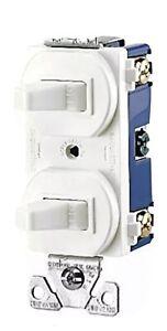 (10) Eaton 275W 15-Amp 120/277  Commercial Grade Combination Single Pole Toggle