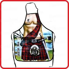 APRON-ATTITUDE FUNNY-SCOTTISH MAN MEDIEVAL GLADIATOR KNIGHT SOLDIER WARRIOR-BBQ