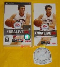 NBA LIVE 08 Psp Versione Ufficiale Italiana 1ª Edizione •••• COMPLETO