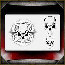 """Skull 13"" Airbrush Stencil Template Airsick"
