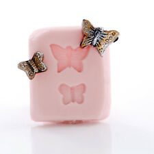 Tiny Butterfly Silicone Mold - Charm Size for Polymer Clay Resin Epoxy  (872