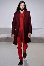 Maison Martin Margiela RARE Runway coat, Oxblood Red Burgundy, Topcoat