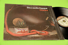 RICCARDO ZAPPA LP CHATKA ORIGINALE ITALIAN 1978 NM !!!!!!!!!!!!!!!
