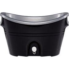 Igloo 20 qt. Party Bucket Cooler - Black/Silver