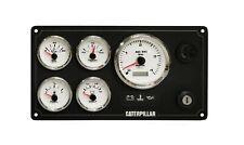 Caterpillar Diesel Engine Instrument Marine Panel  #Pre Wired USA Made