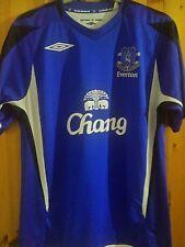 Everton football shirt size M blue colour Umbro