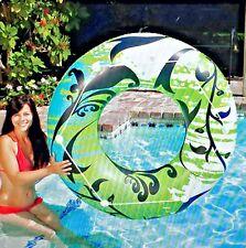 Hawaii Inflatable Float Round Tube Pool Poolmaster 47 inch 14-gauge vinyl
