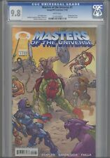 Masters of the Universe #1 CGC 9.8 2002 Image Comic Gold Foil Edition: Old Frame