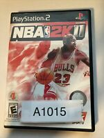 NBA 2K11 Sony PlayStation 2 2010 CIB PS2 Basketball Retro 2K Sports Game Tested