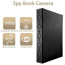 HD-1080P-ROOM-Office-Camera-Spy-Hidden-Camera-Motion-Video-Book-IR-DV-Security