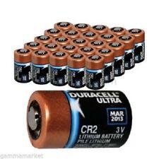50 Batterie bulk Cr2 Duracell 3 Volt Litio