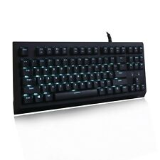 Velocifire TKL01 Tenkeyless Mechanical Gaming Keyboard LED Backlit 87 Keys.