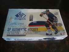 1998-99 SP Authentic Hockey Box---Hobby---Factory Sealed---24 Packs---2 Auto's