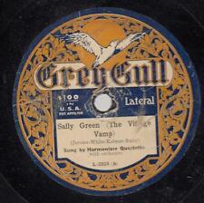 HEAR! Vocal Quartet 78 HARMONIZER QUARTETTE Sally Green (The Village Vamp) on Gr