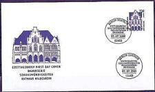 BRD 2001: Rathaus Hildesheim! FDC Nr 2197 mit Berliner Ersttagsstempeln! 1708