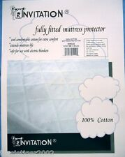 SB Cotton Quilted Mattress Protector