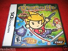 Drawn to Life the Next Chapter  (Nintendo DS, DSI, 3DS, 2DS 2009) new, sealed