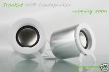 LAPTOP SPEAKERS - 2 Speakers fold into cylinder