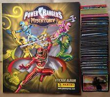 ALBUM POWER RANGERS MYSTIC FORCE+ Set completo di figurine Panini 2007 +  poster