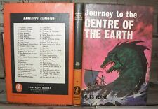 Journey to the Centre of the Earth- Jules Verne, HB, c1970's, Bancroft Classic