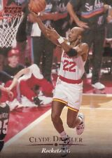 1995-96 Upper Deck Trading Card #56 Clyde Drexler Houston Rockets
