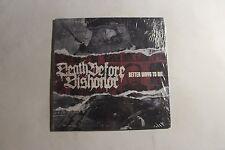 DEATH BEFORE DISHONOR Better Ways To Die LP Bridge Nine Records B9R116-1 M 0J