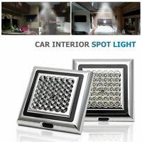 2x  42 LED Lampe Plafonnier Panneau Spot LED 12V Chambre Salon Voiture Lumière