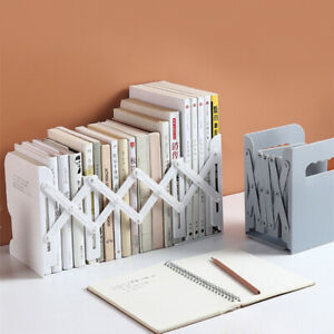 Plastic Adjustable Non-Slip Bookend Bracket Heavy Book End Office Book Stopper