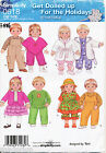 """SIMPLICITY SEWING PATTERN 0618 15"""" (38CM) BITTY BABY BOY/GIRL TWIN DOLL CLOTHES"""