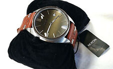 NIXON Men's SUPREMACY Wrist Watch - A353 400 - Brown - NWT.... LAST ONE LEFT