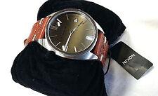NIXON Men's SUPREMACY Wrist Watch - A353 400 - Brown - NWT