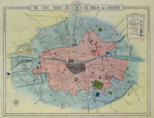 DUBLIN CIVIC SURVEY Archaeology. Growth from 1900. Historic buildings 1925 map
