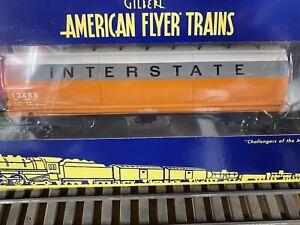 American Flyer A/F 6-48667 Interstate Cylindrical 3-Bay Hopper NIB