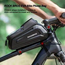 RocBros Bike Front Bag Top Tube Bag Touch Screen Phone Bag Waterproof 6.5inch