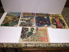 Lot of 5 Sgt Fury 4 4 38 48 84 Marvel Comics