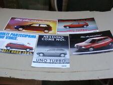 Manifesti Fiat Uno e Uno Turbo ie
