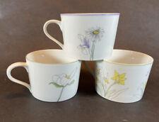 Block Spal Watercolor Hillside Daffodil Trillium Mary Lou Goertzen Portugal Cups
