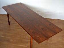 OLE WANSCHER ROSEWOOD COFFEE TABLE FOR P JEPPESENS DENMARK- retro Danish