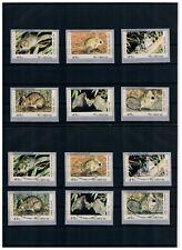 Selbstklebende ATM-Serie vom Ersttag ** & ESST PHILAKOREA 1994 Nadeldruck Austr.