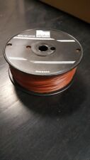 """Alpha Wire 3051 1000 FT Spool Hook-Up 22 AWG 7/30 TC AWM 1569 .016"""" PVC Brown"""