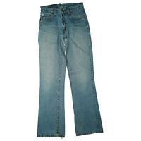Levis Levi`s 525 04 Damen Jeans Hose Bootcut 28/32 W28 L32 stonewashed Blau used