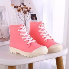 Womens Waterproof Wellies Wellington Low Heel Rain Ankle Boots Garden Shoes NI