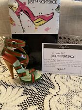 Rare Just The Right Shoe By Raine Zeppelin - Nib