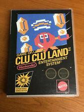 Clu Clu Land NES Nintendo Entertainment System Retro Universal Game Box Repro